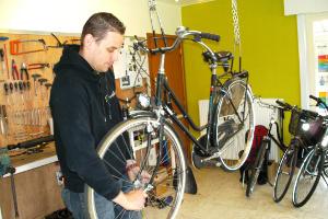 Sonny Callens Zelfstandig fietsenmaker 2000